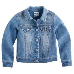 Sonoma girls button up jean jacket